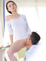 Erotic Brunette Making Love 02