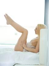 Horny Blonde Making Love 02