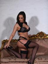 Anastasia In Black Lingerie 09