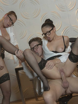Alaina And Ariana In Threesome 11