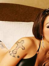 Stephanie Ly - Black Bikini 07