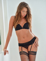 Elena In Stockings And Lingerie 13