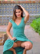 Pretty Girl In Green 00