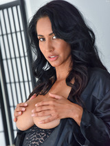 Isis In Her Black Robe 01