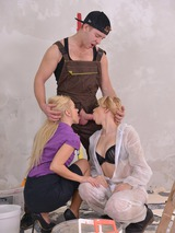 Threesome With Two Sexy Blondes 04