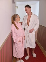 Couple Fucks In Sauna 00