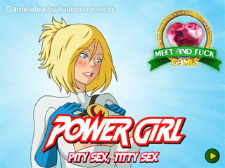 Power Girl: Pity Sex, Titty Sex