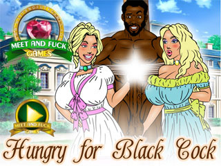 Hungry for Black Cock