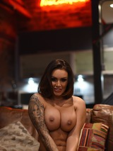 Gemma Massey Strips On The Couch 13