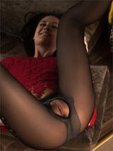 Ila In Sexy Stockings 07