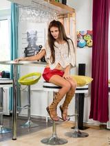 Red Mini Skirt 00
