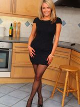 Maid waiting in the kitchen 00