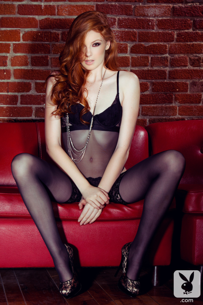 Redhead glamour beauty 03