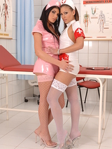 Raunchy Nurses Intense Physical 00