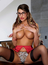 Busty Pornstar August Ames Is Here 07
