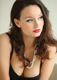 Carla Brown Red Lipstick