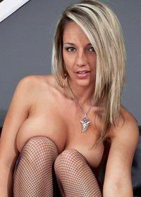 Nikki Sims Heels and Stockings