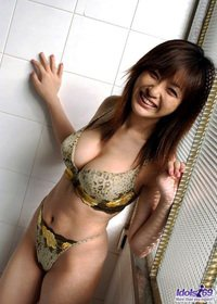 Big Boobed Sexy Asian Babe Pic