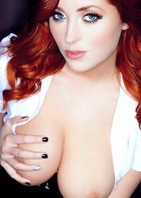 Nuts Magazine Topless Office Babes Lucy Collett