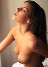 Sensual Candice Luka posing naked