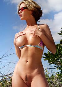 Crissy Moran Nude Sunbathing