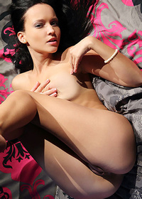 Angie C Dark Haired Beauty Pics