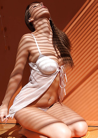 Meet Avia A In Very Sensual Erotic Nude Art Scene