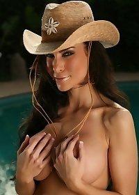 Laura Bikini cowgirl