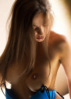 Abigail Mac Shines In The Sunlight From The Window