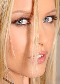 Alluring Blondie Sophie Moone