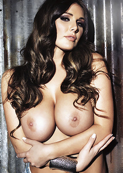 Glam Lucy Pinder