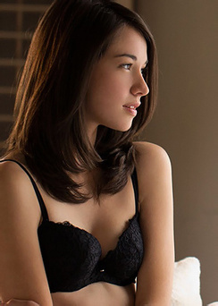 Emily Grey - Black Lingerie