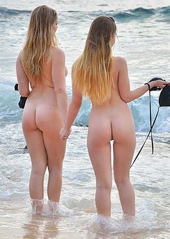 Nicole Veronica Beachside Nudes