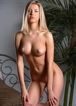 Sweet blonde Barbara