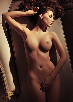 European Model Marina Emanuela Is Very Decadent