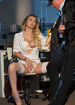 Natalia Starr With The Night Watchman Porn Pics