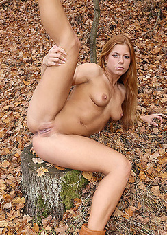 Chrissy In The Nature