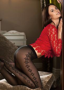 Ila In Sexy Stockings
