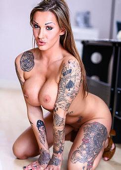 Tattooed Slut Chantelle Fox