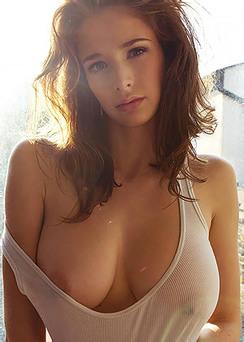 Busty Beauty Emily Shaw Candids