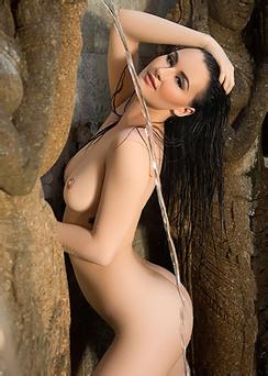Skylar Leigh Taking Outdoor Shower