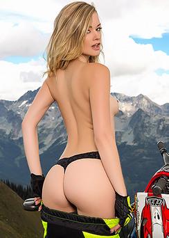 Sexy Playboy Newcomer Olivia Preston