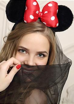 Playful Minnie