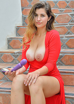 Gianna Gorgeous In Red