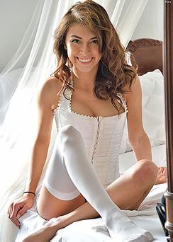 Sensual Kara in Lingerie