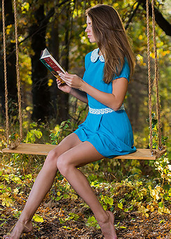 Mary Kalisy In The Forest