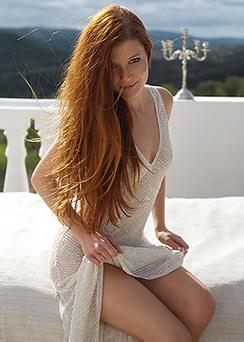 Redhead Babe Mia Sollis