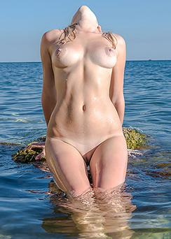 Amazing Teen In Water