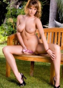 Carli Banks playing with her dildo