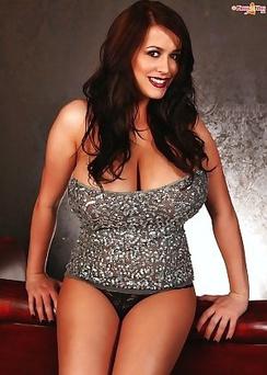 Leanne Crow natural big boobs